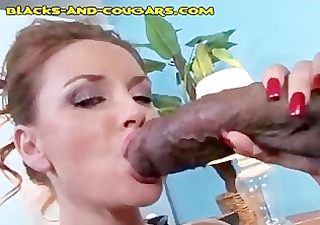 redhead mother i takes a black pounding
