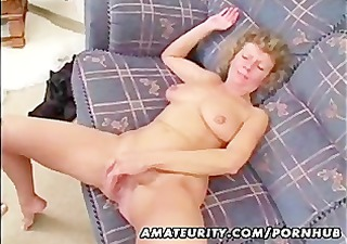 older non-professional wife homemade fucking with