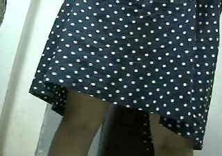 BBW Wife In Sheer Tan Pantyhose And White Panties
